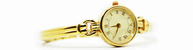 Broken Gold Watches